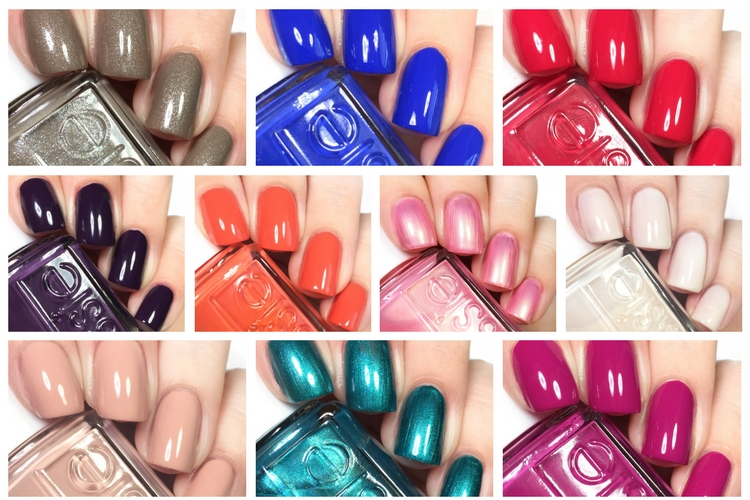 Essie Live Swatches