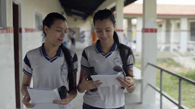 Estudantes retratadas no filme 'Atravessa a Vida', de João Jardim (Foto: Divulgação/Curta!)
