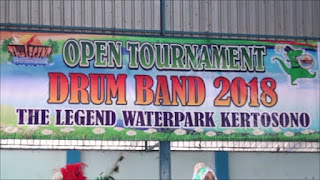 Waterpark Kertosono Gelar Turnamen Drumband