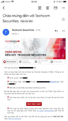 Dang ky tai khoan chung khoan Techcombank