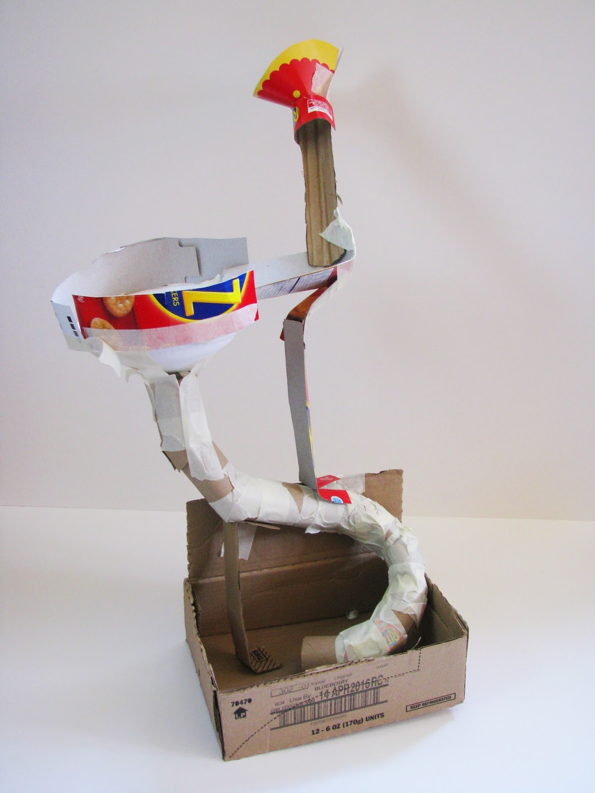 The Helpful Art Teacher: Create Marble Roller Coasters From Cardboard: