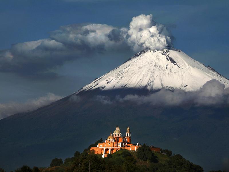Vulcões e Zonas de Atividade Vulcânica