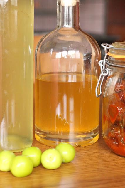 recette coreenne aux prunes vertes