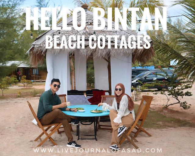 Asiknya Liburan di Hello Bintan Beach Cottages Pesisir Pantai Trikora