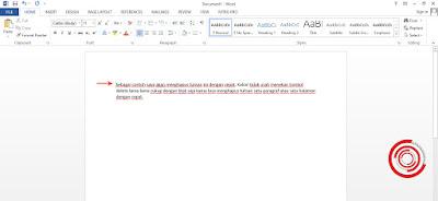 1. Langkah pertama untuk menghapus tulisan dengan cepat di Laptop dan Komputer, silakan kamu blok teks yang ingin kamu hapus dengan cara menekan mouse sambil memilih teks yang ingin dihapus