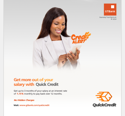 How to get a loan  from GTBANK Nigeria