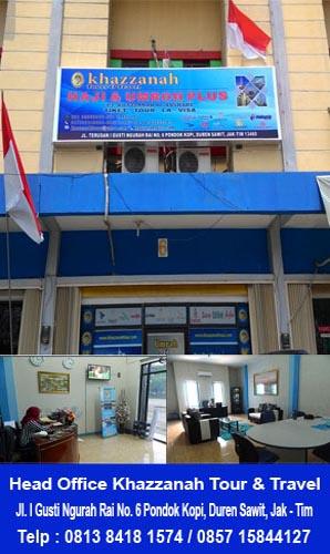 Kantor Paket Umroh plus Turki 2016
