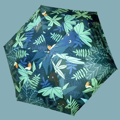 暗夜叢林晴雨自動傘