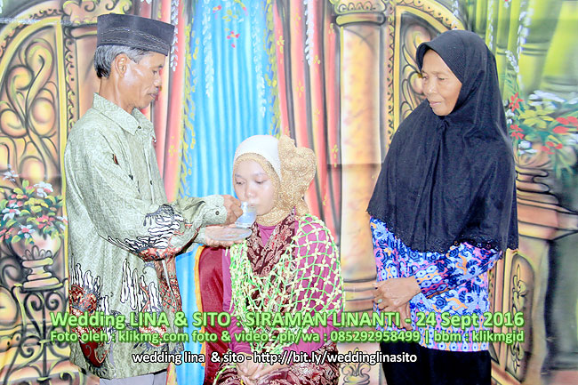 Foto Dokumentasi Siraman LINANTI - 24 Sept 2016 | Klikmg Fotografer Wedding