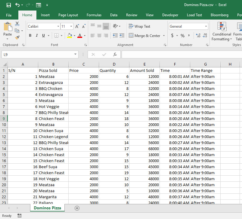 how to make a frequency distribution in excel