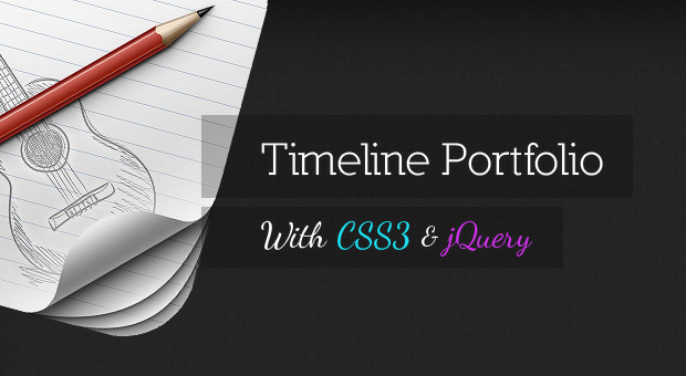 Tutorial Timeline Portfolio With CSS3 and jQuery