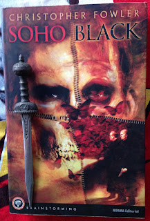 Portada del libro Soho Black, de Christopher Fowler