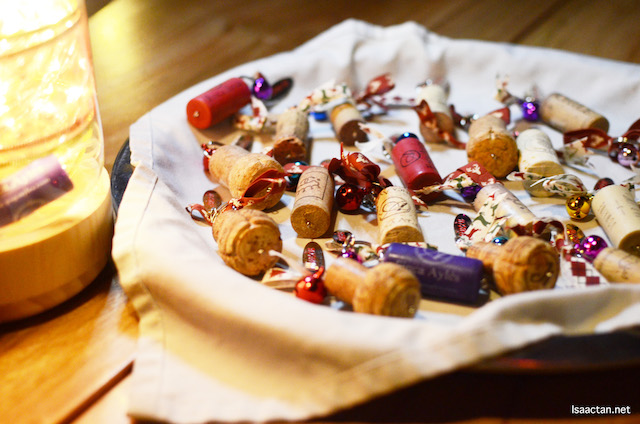 What a pretty spread of festive corks!