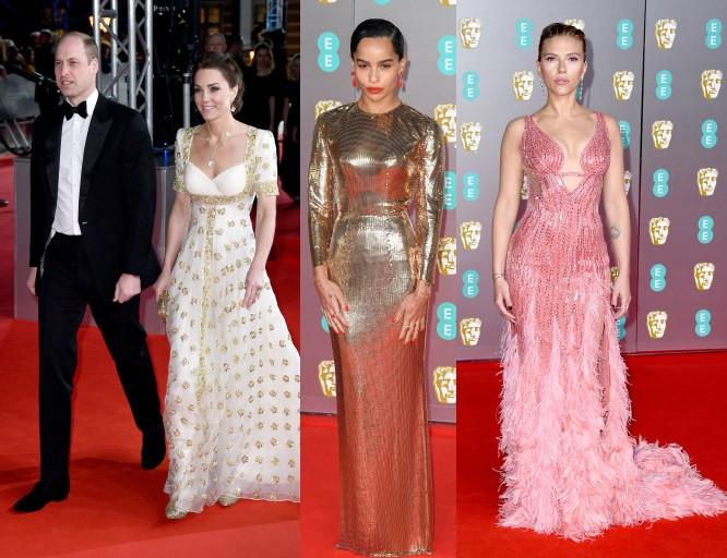 Stunning red carpet photos from the 2020 BAFTA TV Awards
