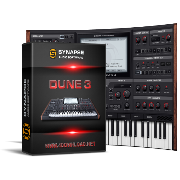 Synapse Audio - DUNE v3.0.7 Full version