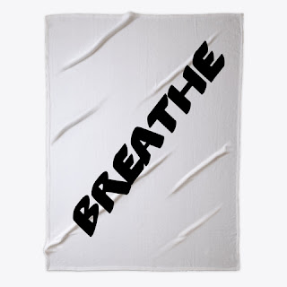 Breathe Fleece Blanket White