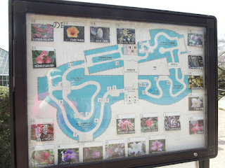 Plan of the Kyoto Botanical Gardens Conservatory, Japan