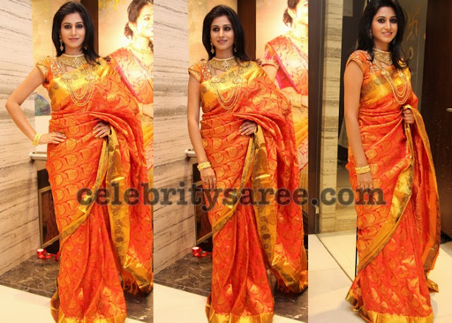 Shamili in Chandana Brothers Saree