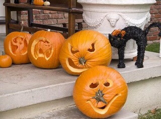 funny easy pumpkin carving ideas