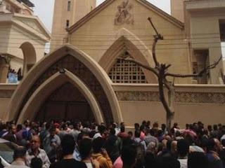 Dois atentados a bomba em igrejas no Egito deixam dezenas de mortos e feridos
