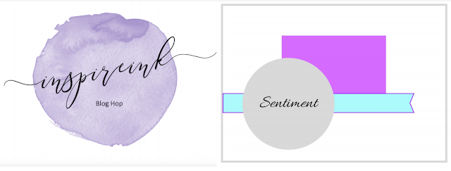 InspireINK October Blog Hop: Card Sketch