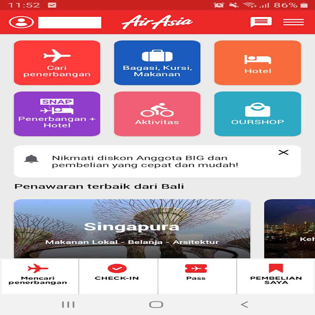 Aplikasi untuk Refund Tiket Air Asia