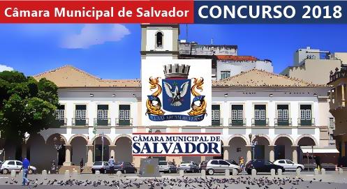 Concurso Câmara de Salvador BA 2018