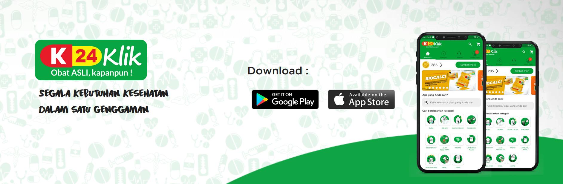 Belanja Obat Online Menggunakan Aplikasi K24Klik