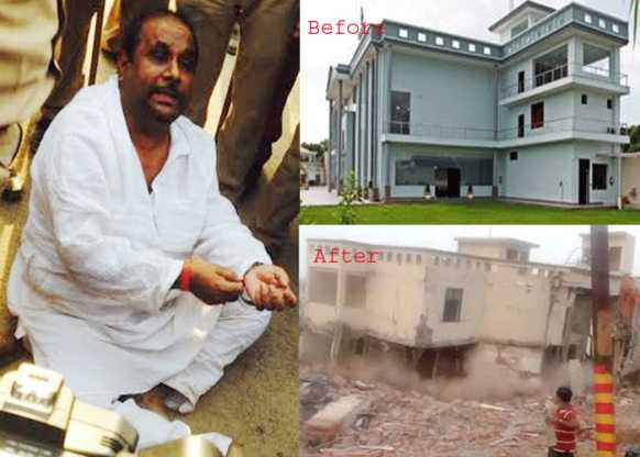 सरकार ने तोड़ा रामपाल के सपनों का महल