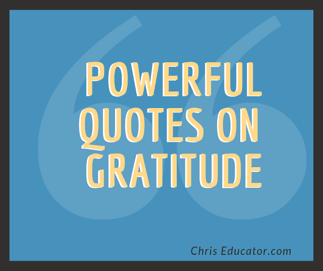 Powerful Quotes on Gratitude