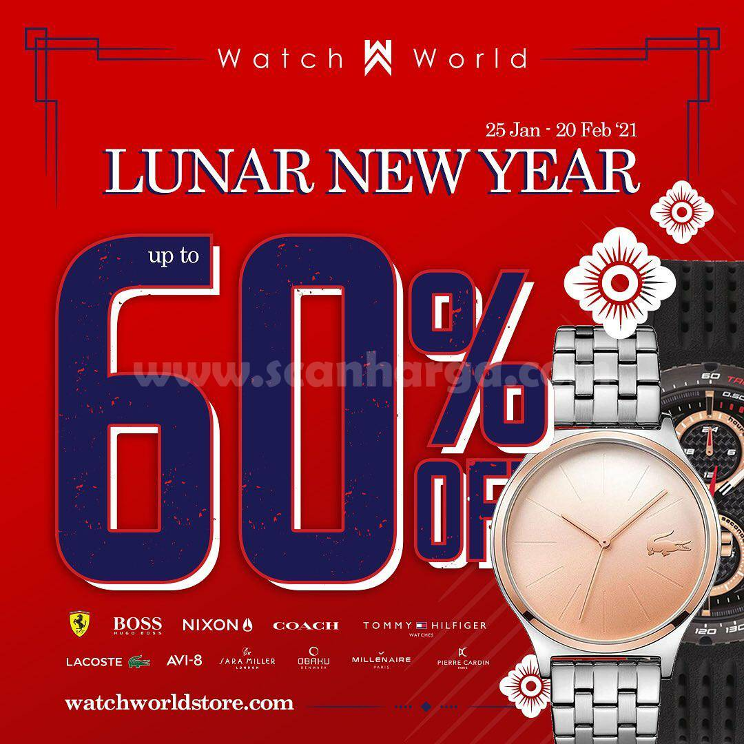 WATCH WORLD Promo LUNAR NEW YEAR! Discount Up To 60 Off