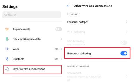 Bluetooth Tethering Se Computer Me Internet Share Kaise Kare