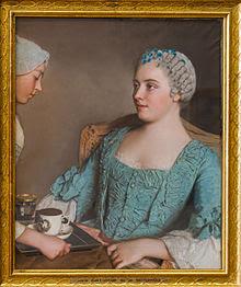 Micul dejun. Liotard. 1735