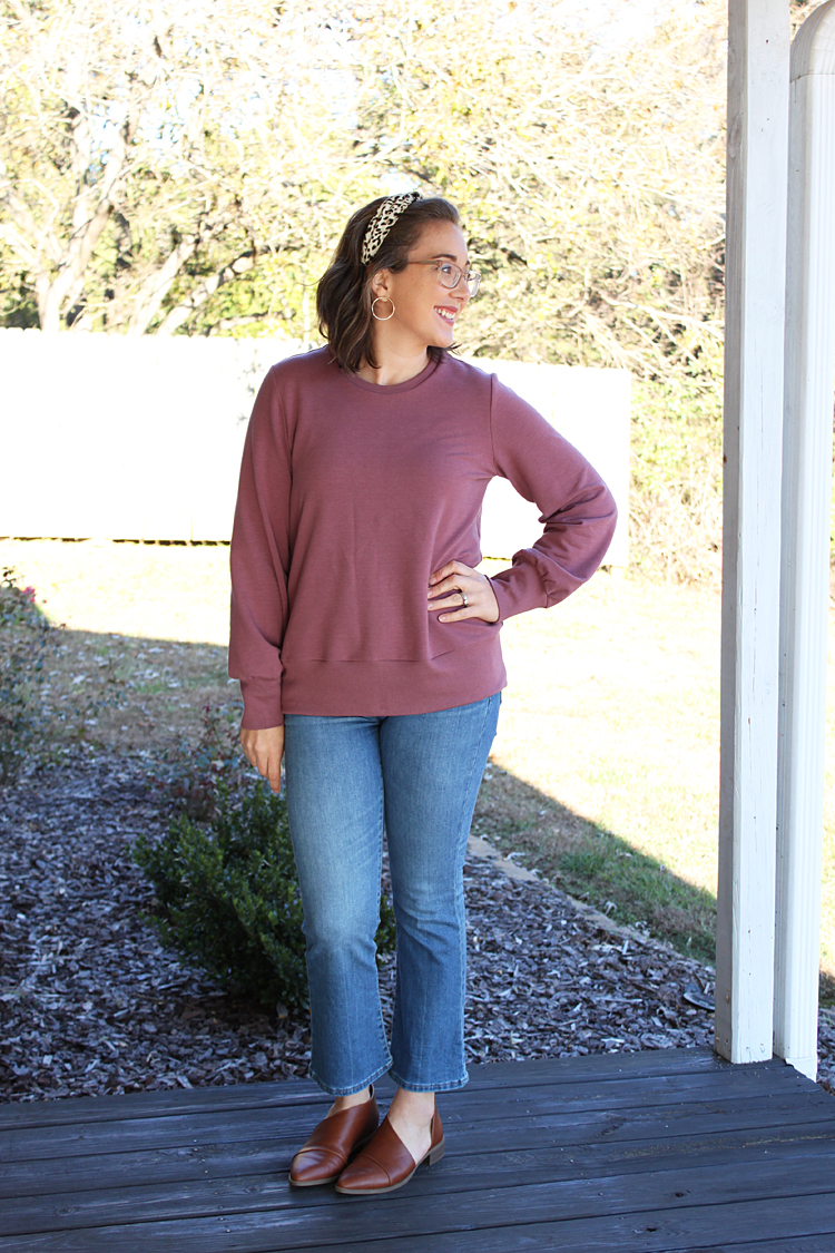 Sheridan Sweater // Sewing For Women