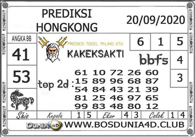 Prediksi Togel HONGKONG DUNIA4D 20 SEPTEMBER 2020