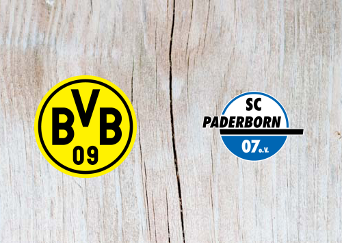 Borussia Dortmund vs Paderborn -Highlights 22 November 2019