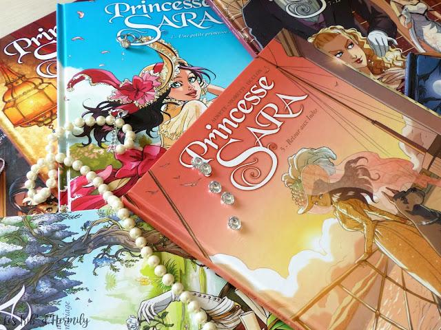BD Princesse Sara Alwett Moretti Boccato Duclos éditions Soleil Blackberry tomes 1 à 8