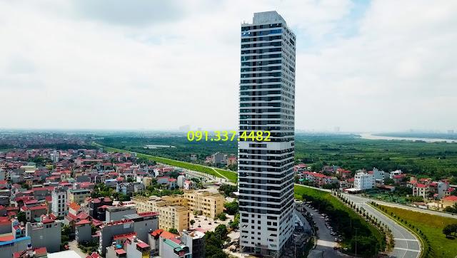 Bán cho thuê tòa A văn phòng chung cư Intracom Riverside Nhật Tân Đông Anh Hà Nội