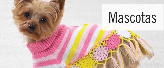 Items para Mascotas a Crochet y Dos Agujas