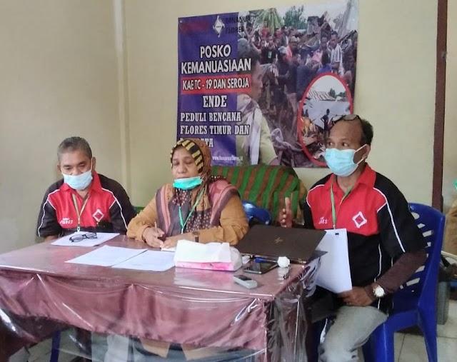 Posko Kemanusiaan Tananua Flores antar bantuan ke Flores Timur dan Lembata