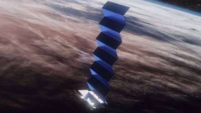 SpaceX lança 57 novos satélites 'VisorSat' Starlink