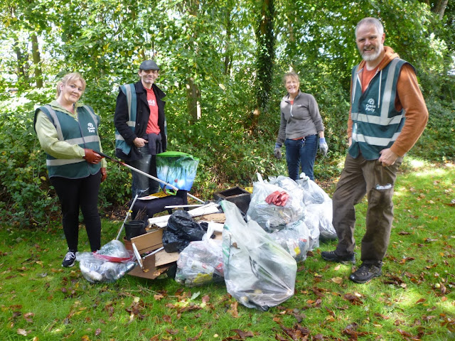 Litter pick in Orton Goldhay
