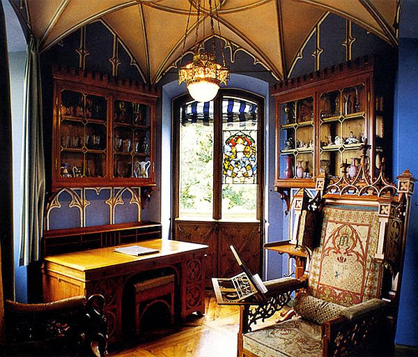 Interior Deisgn: Eye For Design: Decorating In The Gothic Revival Style