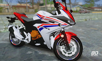 Download mod moto Honda CBR500R 2018 para GTA San Andreas , GTA SA PC