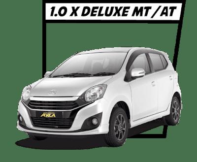 New Ayla type 1.0 X DELUXE