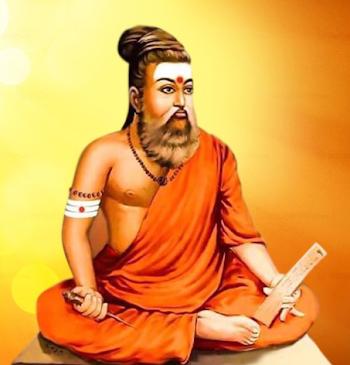 बीजेपी ने पहनाया  कवि तिरूवल्लुवर को भगवा रंग , तमिलनाडु में हुआ बवाल !