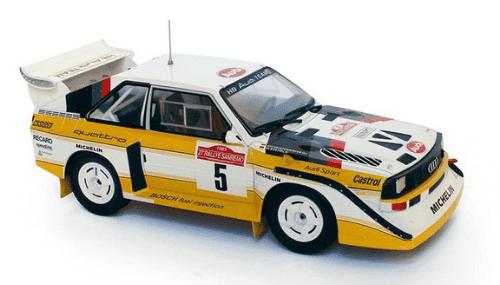 WRC collection 1:24 salvat españa, Audi Sport Quatro S1 1:24