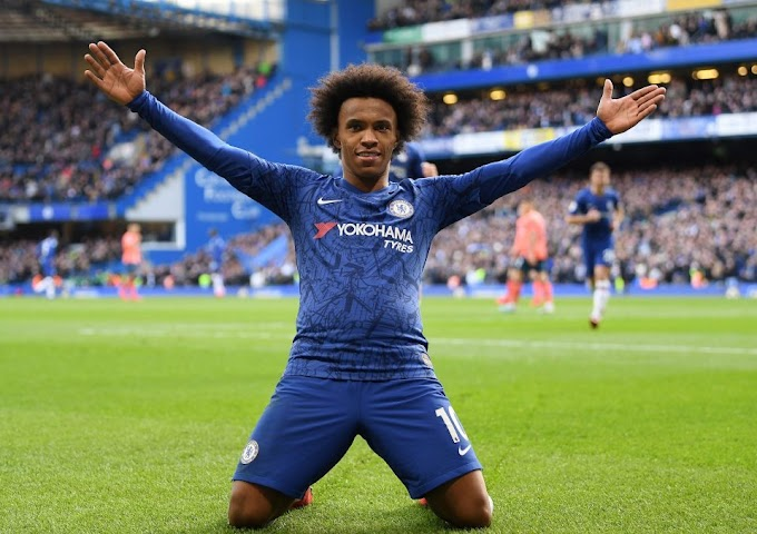 Chelsea Winger William Agreed to join Tottenham When his contract expires at the end of the season