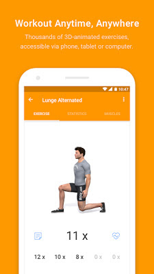 Télécharger Virtuagym Fitness - Home & Gym PRO