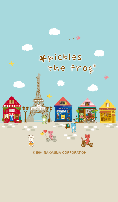 pickles the frog - I'm home! -